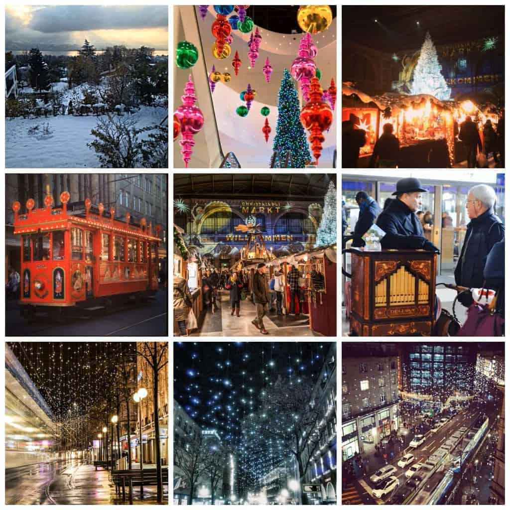Photos of Zurich at Christmas